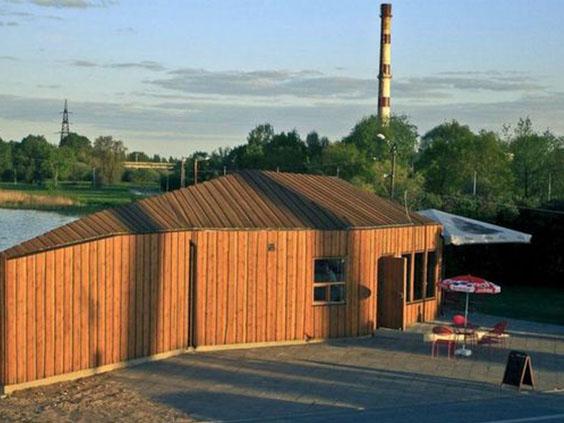 Projektai įgyvendinti su HOLZProf antipirenu - apdirbtos medienos pavyzdžiai (23)