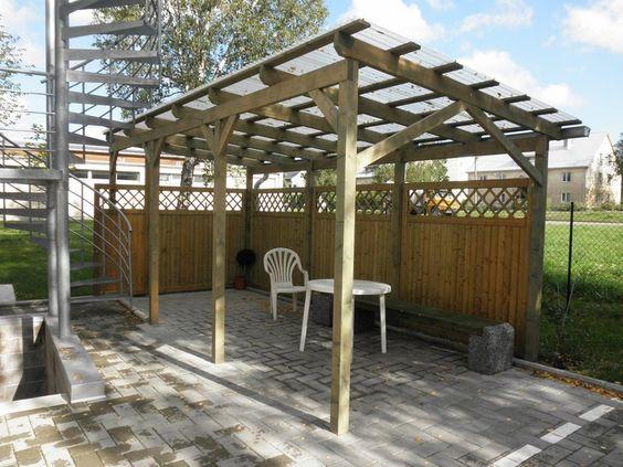 Projektai įgyvendinti su HOLZProf antipirenu - apdirbtos medienos pavyzdžiai